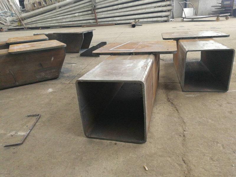 武汉美的空调喷涂机器人安装底座